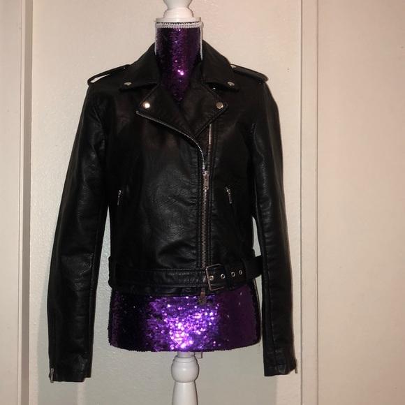 09ac927cadb wild fable Jackets   Coats   Brand New Leather Jacket   Poshmark